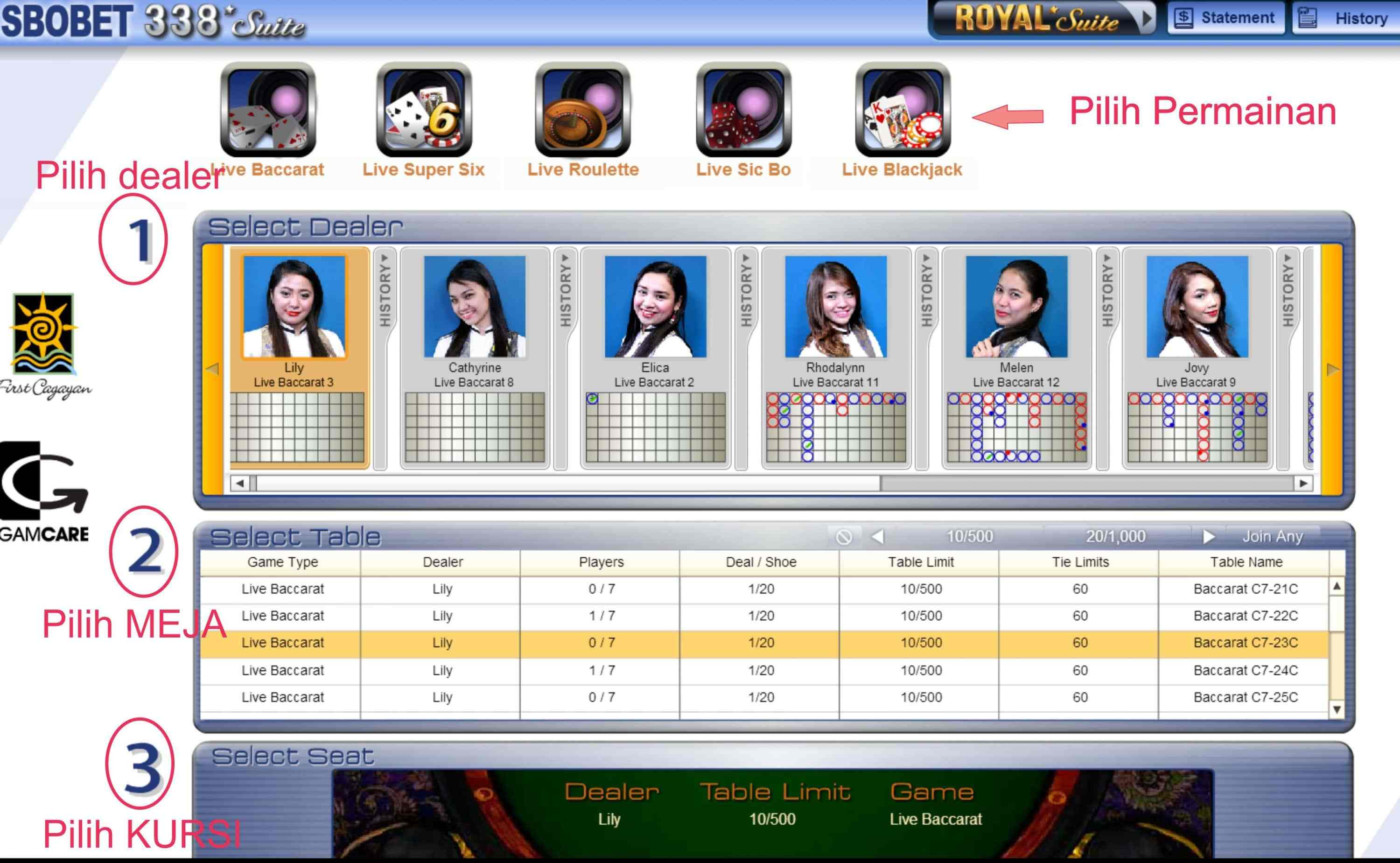 Tips Langkah Login Sbobet Casino 338a