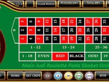 Main Judi Roulette Pada Sbobet Online